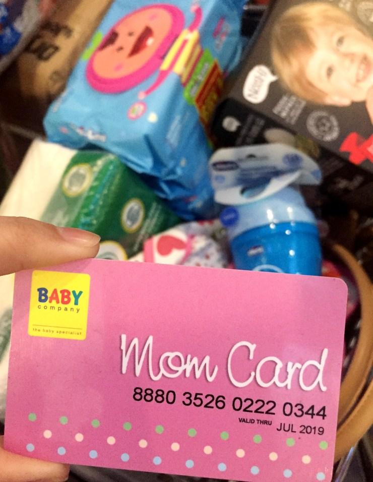 dyosathemomma: Baby Company Grand Baby Fair Year 8 SM Megatrade Hall, Mom Card