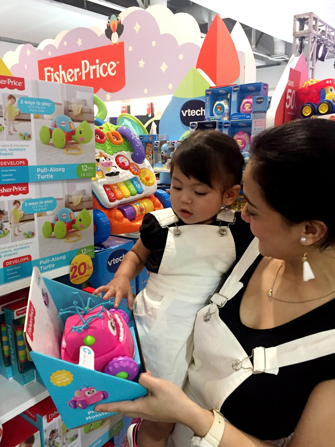 dyosathemomma: Baby Company Grand Baby Fair Year 8 SM Megatrade Hall, Fisher Price