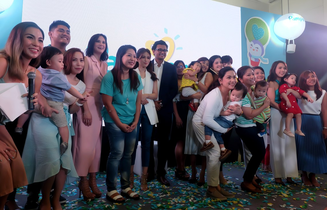 dyosathemomma: Pampers Go Galaw Mornings with Toni Gonzaga and Baby Seve