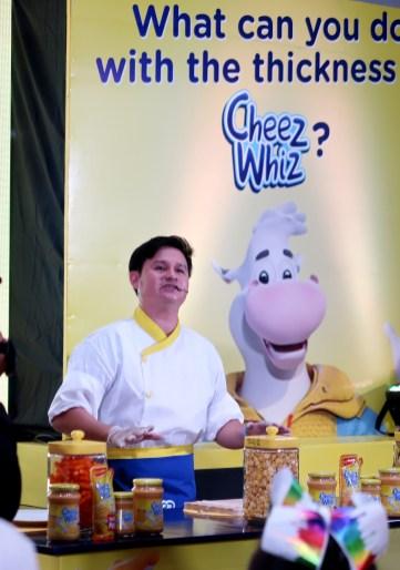 dyosathemomma: Cheez Whiz #Cheeseventions creative snacks for kids, Chef DJ Santos