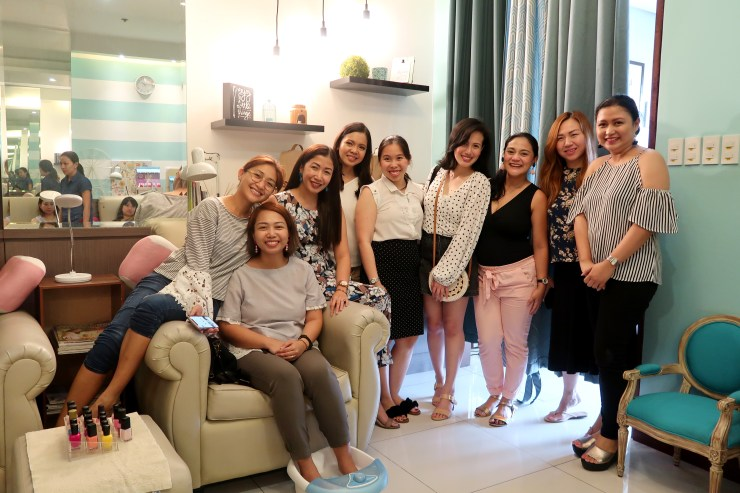 dyosathemomma: Voila x The Green Company organic living and healthy lifestyle, spa with mommies