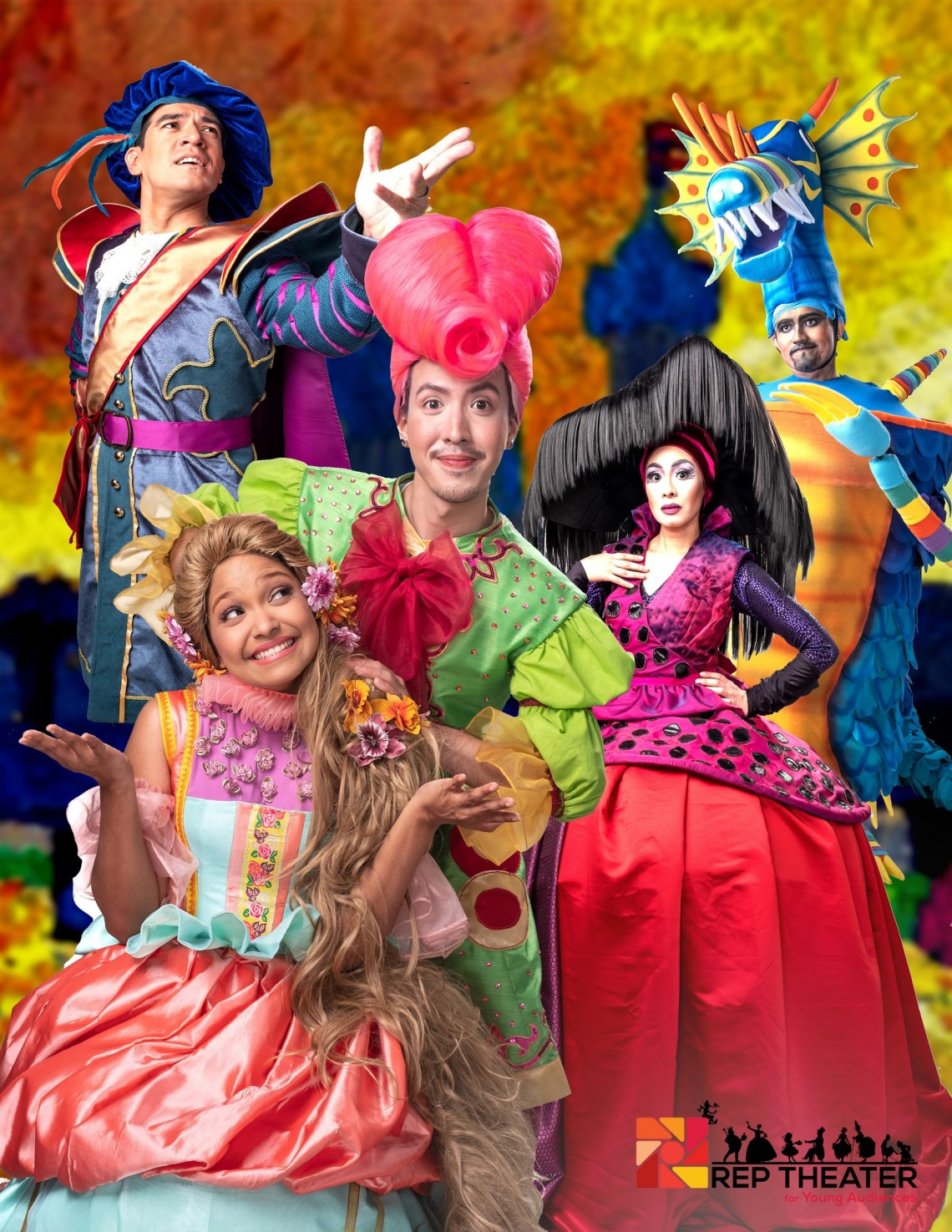 dyosathemomma: Rep's Rapunzel! Rapunzel! A Very Hairy Fairy Tale at the OnStage Theater, Greenbelt 1, Makati City