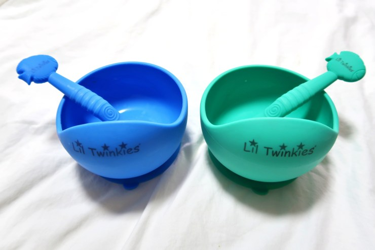 dyosathemomma: Li'l Twinkies review, mommy blogger ph, Anti-Slip Silicone Bowl and Spoon