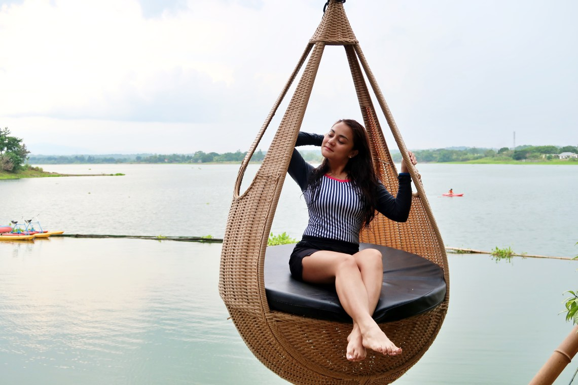 dyosathemomma: San Rafael River Adventure Resort in Bulacan Review, mommy blogger ph, teardrop hammock