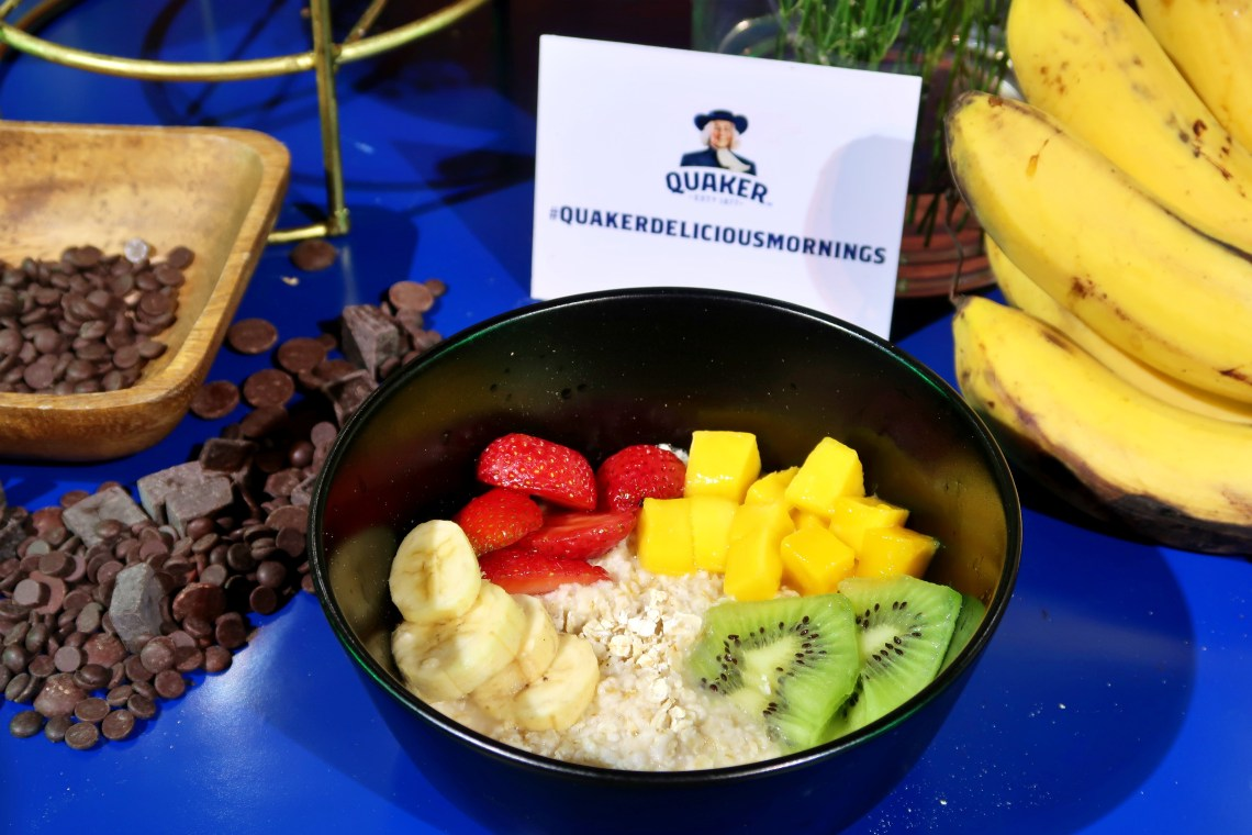 dyosathemomma: #QuakerDeliciousMornings Quaker Oats, mommy blogger ph, healthy breakfast