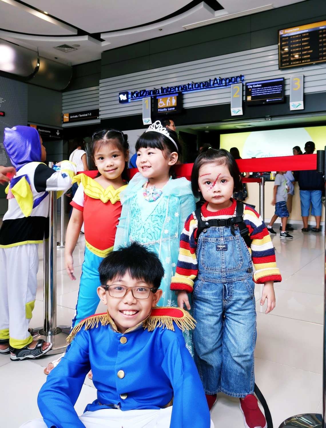 dyosathemomma: Mommy Bloggers Philippines Halloween Party 2019 #McDoParty Kidzania Manila, AmariaNiszha