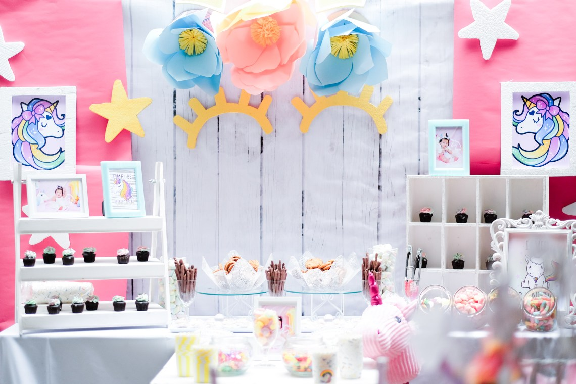 dyosathemomma: First Birthday party Ideas-unicorn theme-Mariana Jazrine-Amaria Niszha-mommy blogger ph-sweets corner-kiddie party ideas