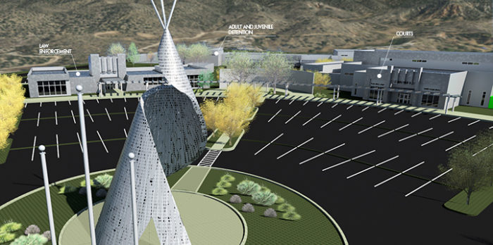 Mescalero Apache Judicial Center Master Plan