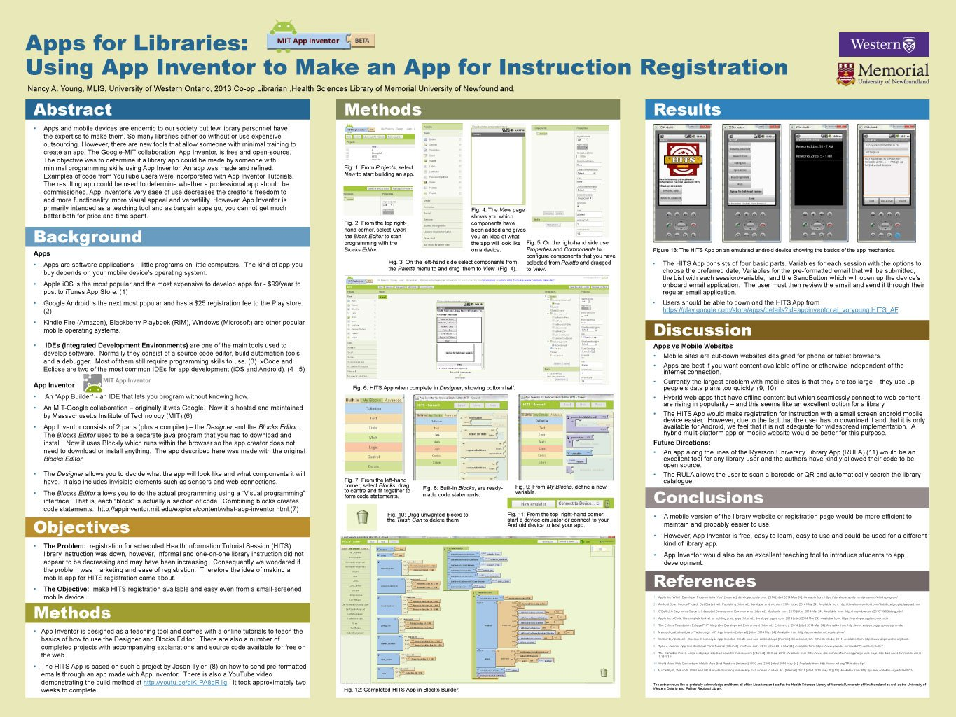 CLA Poster: Apps for Libraries: Using App Inventor to Make