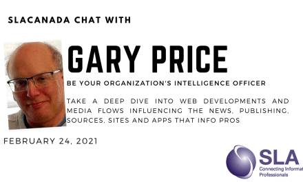 SLACanada Chat with Gary Price February 2021
