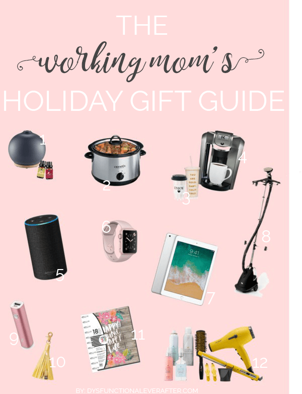 Working Mom's Holiday Gift Guide