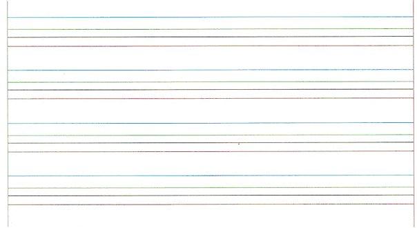 cahier ligné dyspraxie dysgraphie écriture