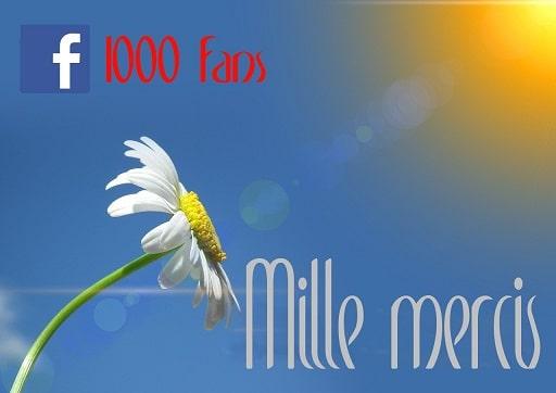 1000 like FB