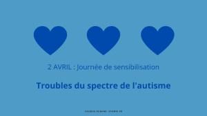 Sensibilisation aux troubles du spectre de l'autisme