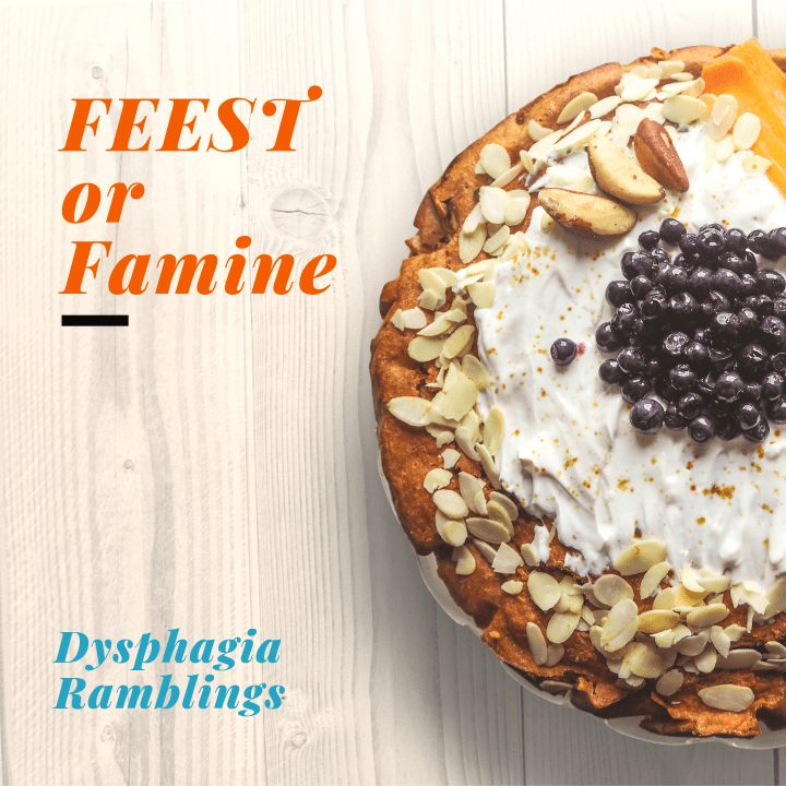 FEEST or Famine…..