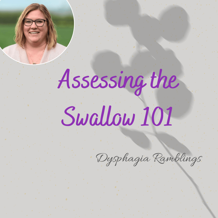Assessing the Swallow:  101