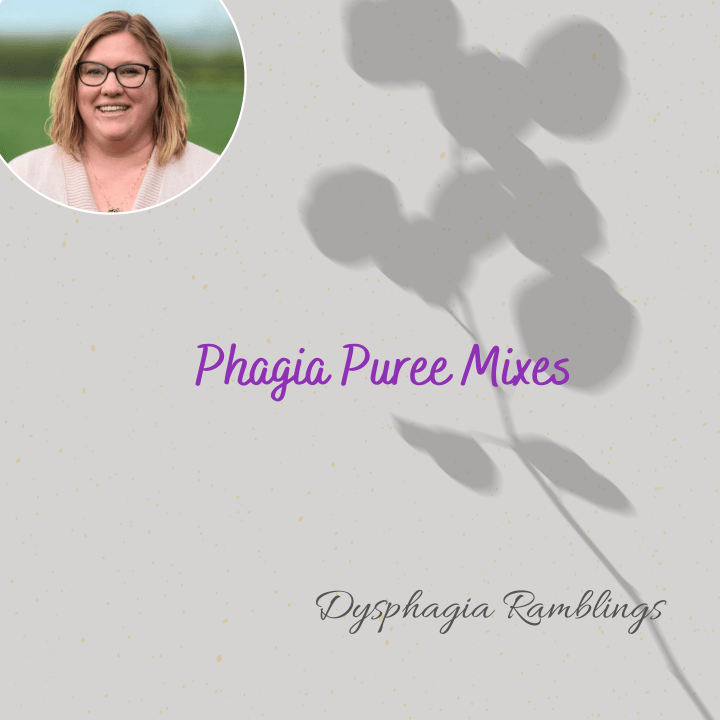 Phagia Puree Mixes