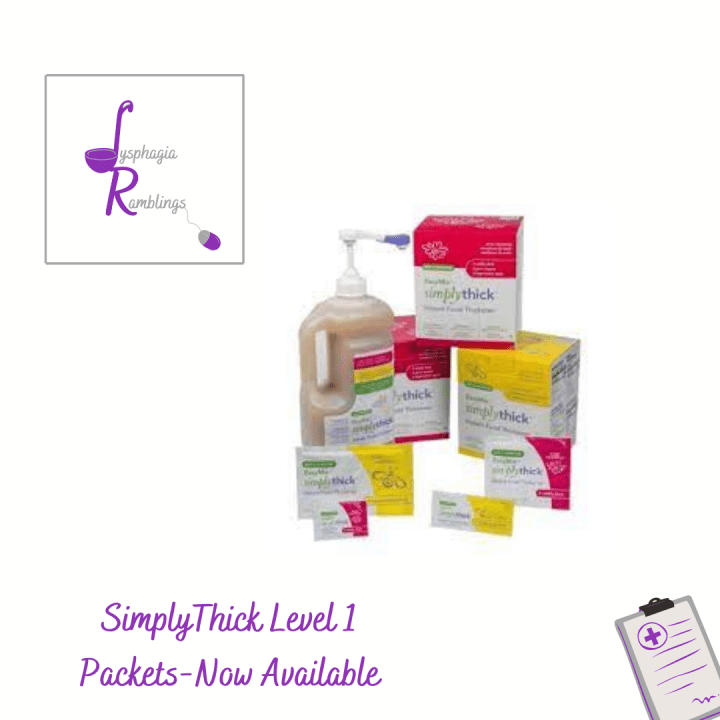 SimplyThick Level 1 Thickening Packets