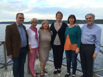 Dystonia Europe Board in Stockholm Sweden.
