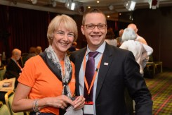 among friends from the industry, Adam Pinter from Medtronic,