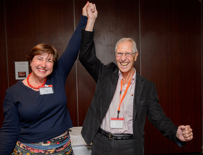 Professor Marie Vidailhet and Phsyiotherapist Jean-Pierre Bleton hope to see you at the Dystonia Europe Annual Conference in Paris 2014!