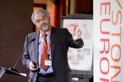 Dystonia Europe Executive Director Alistair Newton setting the scene.
