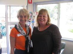 Speakers; Monika Benson and Lynley Bradnam