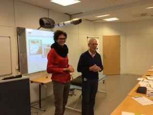 Anniken Hagen and Jean-Pierre Bleton