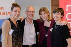 AMADYS team: Capucine Devred, Stéphanie Frehel, Beatriz Cangas together with Jean Pierre Bleton.