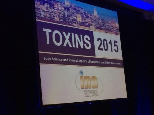 Toxins 2015 in Lisbon...