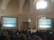 Prof Volkmann opening the congress.
