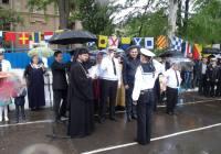 Священнослужителі УГКЦ благословили випускників Військово-морського ліцею в Одесі