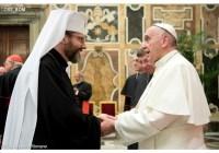 Блаженніший Святослав зустрівся з Папою  Франциском