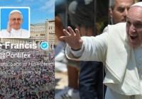 Папа Франциск б'є рекорди у Твіттері