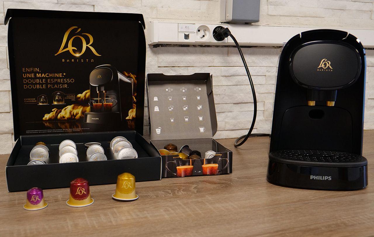 Capsules La Cafetiere L Or Barista Voit Aussi Grand Que Nespresso Les Numeriques