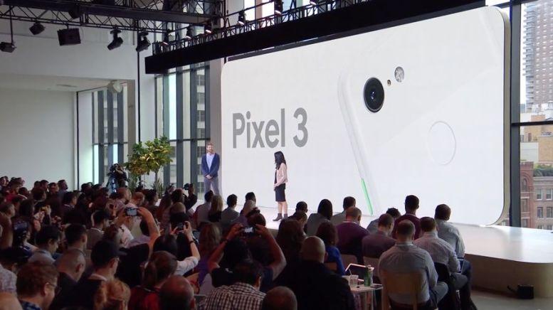 Pixel 3 présenté