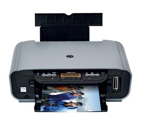 Test Canon Pixma Mp170 Imprimante Scanner Copieur Trois Tres Bons Elements Les Numeriques