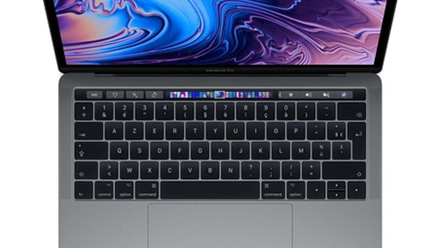 apple macbook pro 13 2018 avec touch bar