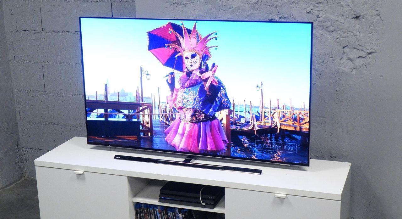 Test Philips 55oled854 L Un Des Rares Televiseurs Oled Avec Un Pied Rotatif Les Numeriques