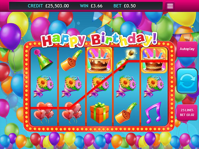 Image Of Birthday Slot Machines