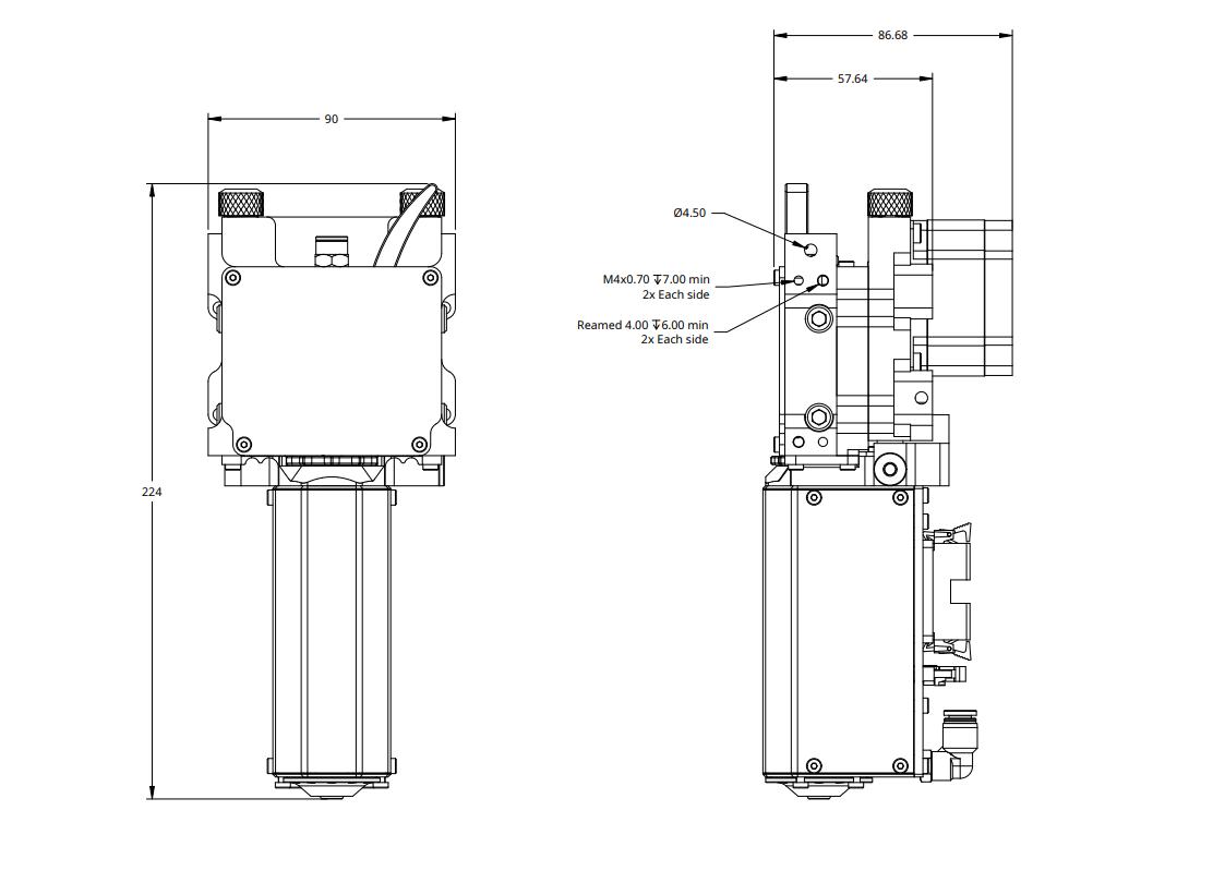 Typhoon Fast Print Amp High Flow Rate 3d Printer Extruder