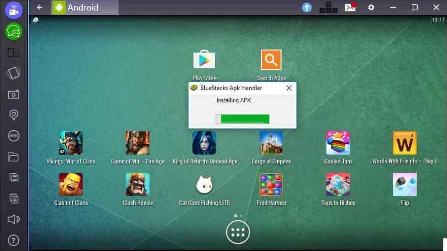 برنامج Bluestacks الرائع لتشغيل تطبيقات الأندرويد على