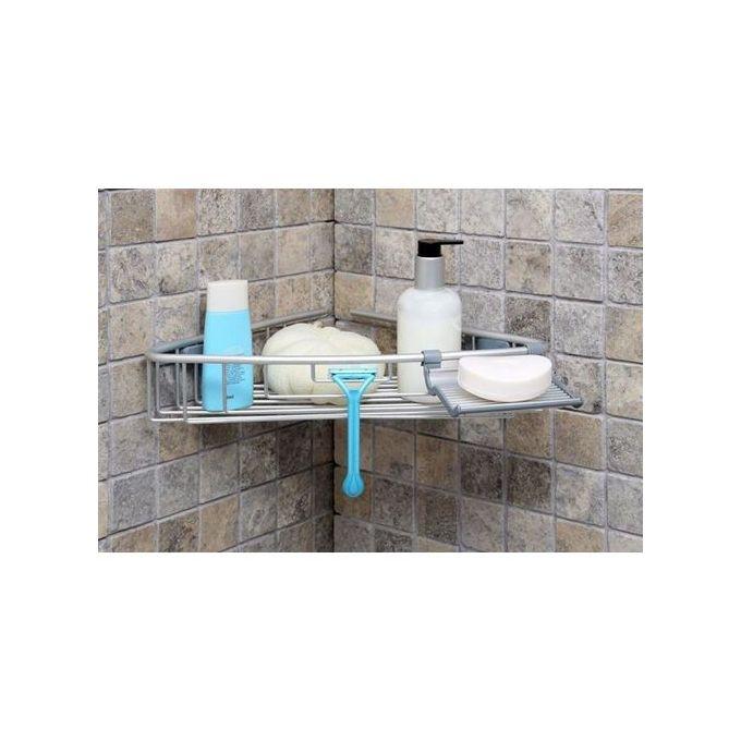 etagere de coin pour baignoire en aluminium aluminium