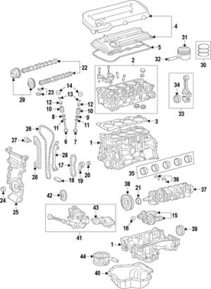Genuine OEM Engine Parts for 2003 Toyota Camry LE  Olathe