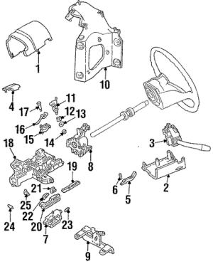 IGNITION LOCK for 1994 Ford Bronco