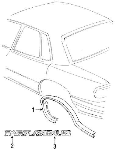 1998 Park Buick Diagram Parts Avenue Interior