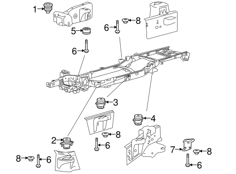 frame components for 2013 ford f 150