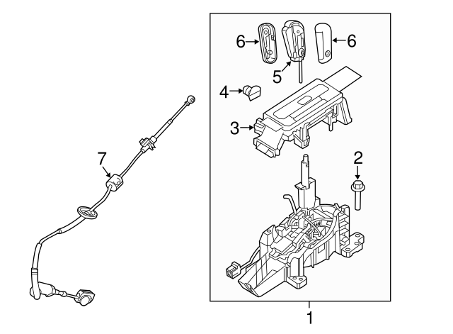 ford part oem