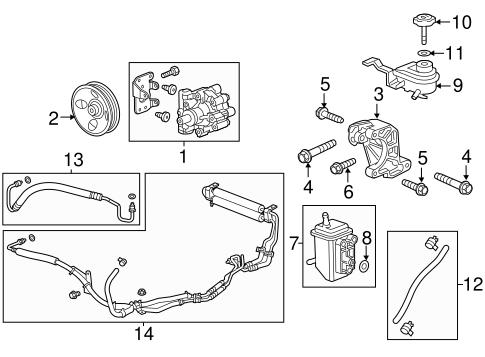 Oem Chevrolet Equinox Pump Amp Hoses Parts