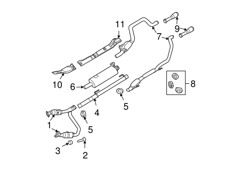 exhaust components for 2012 ram 1500